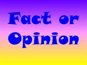 fact_or_opinion