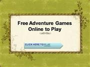 Free Adventure Games Online to Play