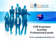 100% CDR Acceptance Guarantee by CDR Engineers Australia Experts