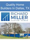 Quality Home Builders In Dallas TX