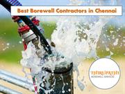 Best Borewell Contractors in Chennai