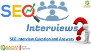 Best Seo Interview Questions And Answers for fresher jobs