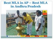 Best MLA In Andhra pradesh-Best MLA In AP