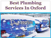 Best Plumbing Services In Oxford