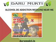 Effective Alcohol De-addiction Medicine Near Me