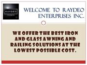Raydeo is supplying the best Commercial Canopies