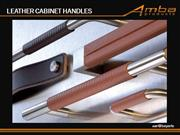 Amba Products Leather Cabinet Handles