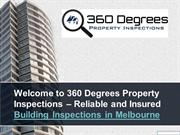 Why Choose Us for a Building Inspection in Melbourne?