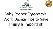 Why Proper Ergonomic Work Design Tips to Save Injury Is important