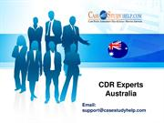 CDR Experts Australia- Online CDR Writing Help by Casestudyhelp.com