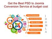 Get the Best PSD to Joomla Conversion Service at budget cost