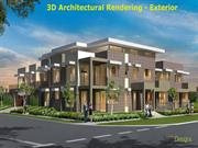 3D Architectural Rendering - Exterior