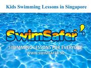 Find the Best Kids Swimming Lessons in Singapore | SwimSafer