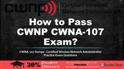 CWNP CWNA-107 Practice Test Questions Answers