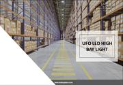 Welcome commercial with The UFO LED High Bay Light