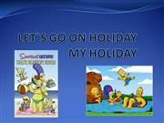 LET`S GO ON HOLIDAY by Sara
