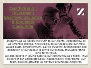 Zenith Group | Investment Business, Insurance & Corporate Consulting