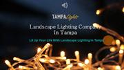 Landscape Lighting in Tampa - Tampa Lights