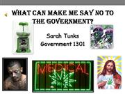 Sarah Tunks - What Makes Me Say No To th