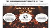 TOP LEADING CLUBS IN LOS ANGELS AND LOS VEGAS