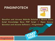 Question and Answer Website Solution - Quora Clone Script