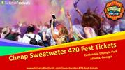 Sweetwater 420 Fest Tickets from Tickets4Festivals