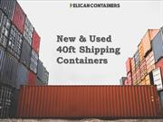 40ft Shipping Container - Pelican Containers