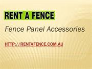 Fence Panel Accessories