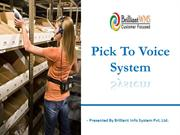 warehouse voice picking systems | voice  wms