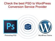 Check the best PSD to WordPress Conversion Service Provider