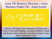 Asian UK Business Directory | Asian Business Finder UK - Asian Locals