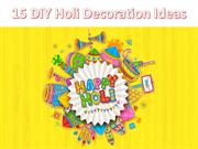 DIY Holi Decoration Ideas | Colourful Holi Decoration Tips 2019