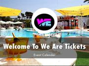 We Are Tickets Presentations
