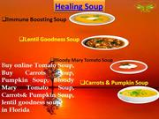 Buy Tomato Soup | Vegetable Soup Florida | Carrots Soup Florida