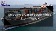 Car Shipping Services from Uk to South Africa by Simba Shipping