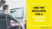 Hire PHP Developer for a Stunning Website - Employcoder