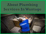 About Plumbing Services In Wantage
