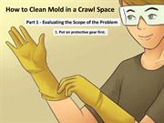 How to Clean Mold in a Crawl Space