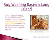 Rug Washing Eastern Long Island