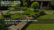 Avail Carpet Repair Services at Pocket - Friendly Price