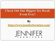 Check Out Our Biggest Tax Break Event Ever!