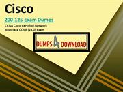 Learn To (Do) Cisco 200-125 Exam Dumps like A Professional