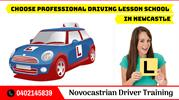 Choose Professional Driving Lesson School in Newcastle