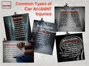 Common Types of Car Accident Injuries