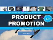 Shopify store and product promotion gigs