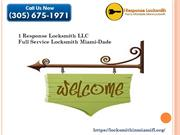 Where you can find best Miami locksmith services