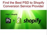 Find the Best PSD to Shopify Conversion Service Provider