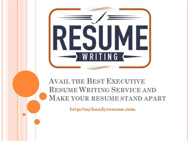 Certified Professional Executive Resume Writing In Europe