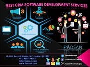 Best CRM Software Development Services Company Fadsan