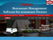 Hotres Restaurant Management Software for restaurant Owners